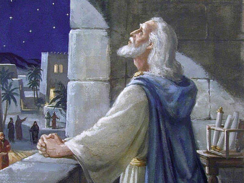 DANIEL IN PRAYER