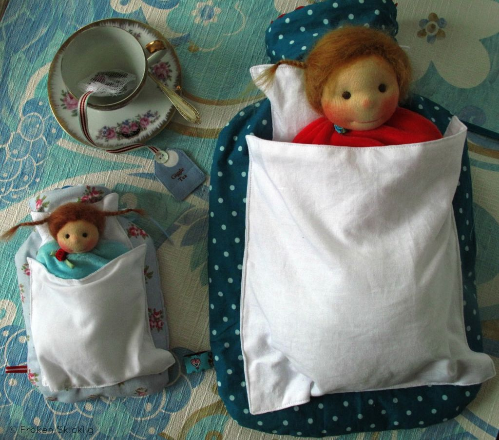 Hot Water Bottle and Doll