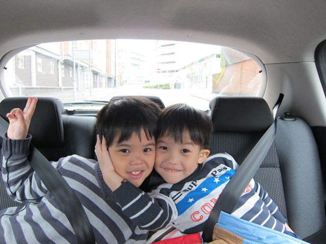 Bradley (left) and Brandel (right), two adorable children of Alex and Natalie