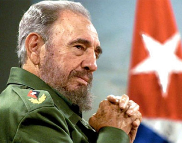 A more recent picture of Fidel Castro