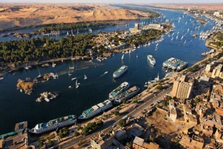 Life-giving Nile river