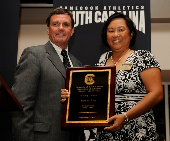 Siew Ai, selected as part of the University of South Carolina Athletics Hall of Fame. Since its creation in 1967, only 131 members have been selected to this elite group.