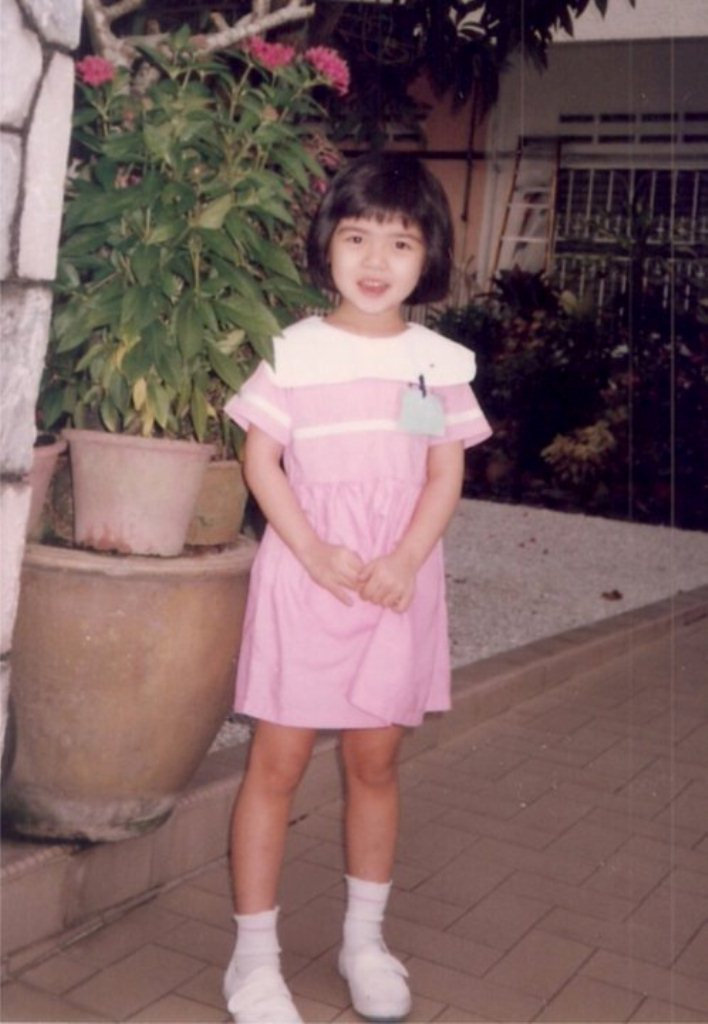 Carey Ng when she was younger