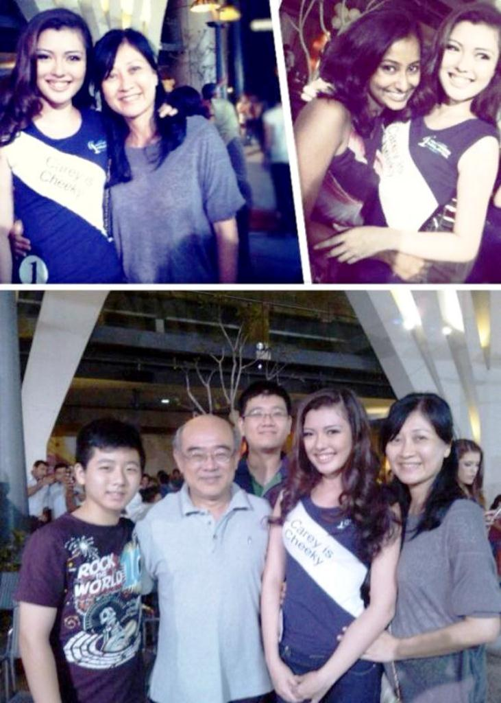 Carey Ng with her beloved family and friends