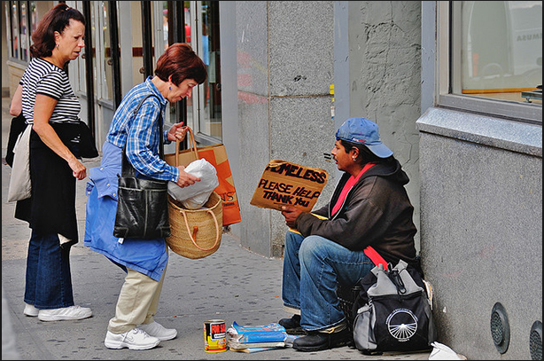 Christians-Helping-A-Homeless-Man