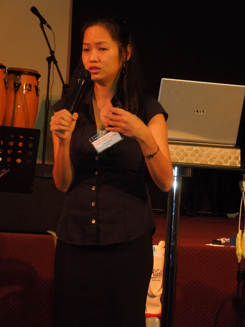 Speaker Charis Wong at the 3rd NACC National Counseling Conference last year