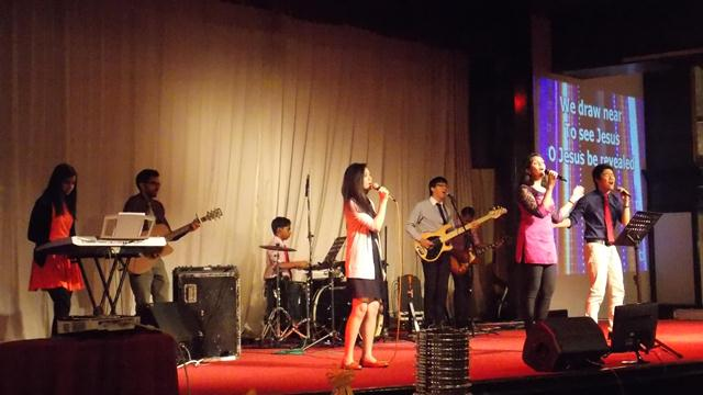 Worship team of City Revival Church