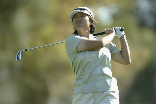 Siew Ai hits a shot in the Welchs / Frys Championship in Tucson, Arizona in year 2004