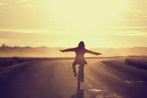 cycling,freedom,girl,sunset-3e95f8d9ff236e5e01b6d4da7a828aad_h