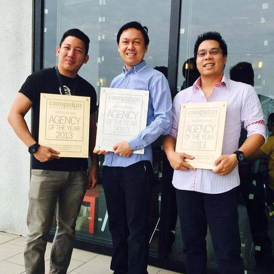 VLT winning Agency of the Year in 2013