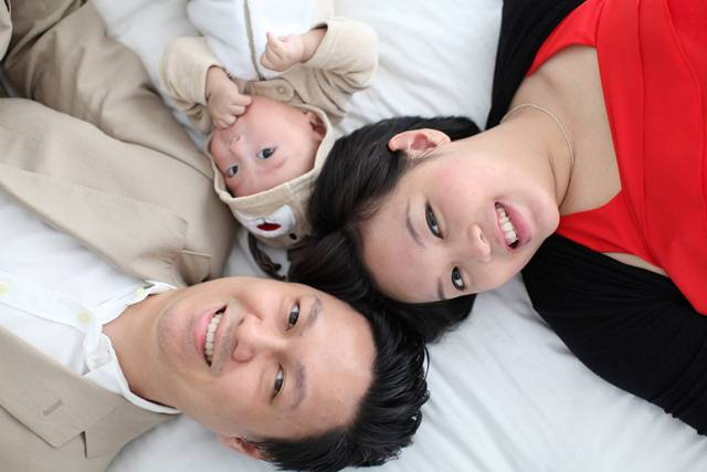 Warren Tan and his beloved family