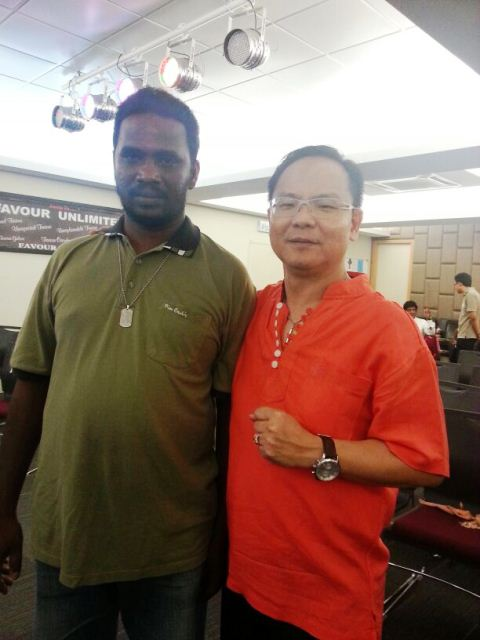 A man who accepted Christ, after he received full restoration of hearing in both ears
