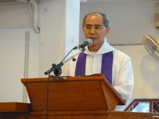 Vicar Rev Joshua Ong
