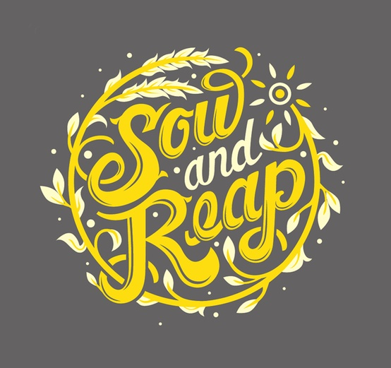 sow and reap