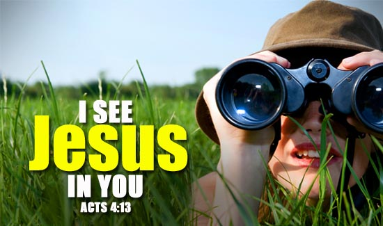 I see Jesus in You