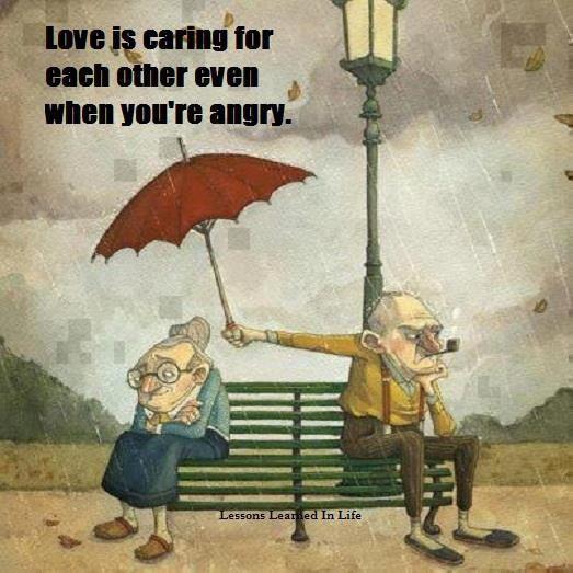 LoveIsCaringForEachOtherEvenWhenYouAreAngry