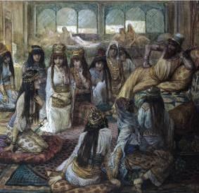 Solomon and His Harem James Tissot