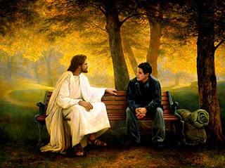 jesus con adolescente