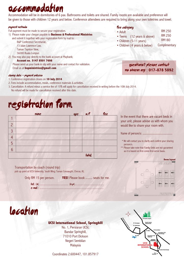 Please click on form to enlarge registration form