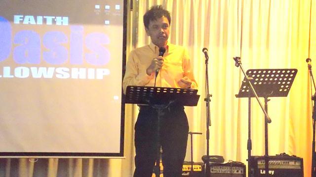 George Matteos preaching