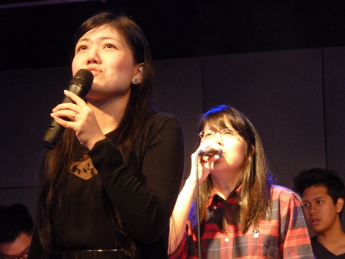 Faith Yeo sharing in Eaglepoint Puchong