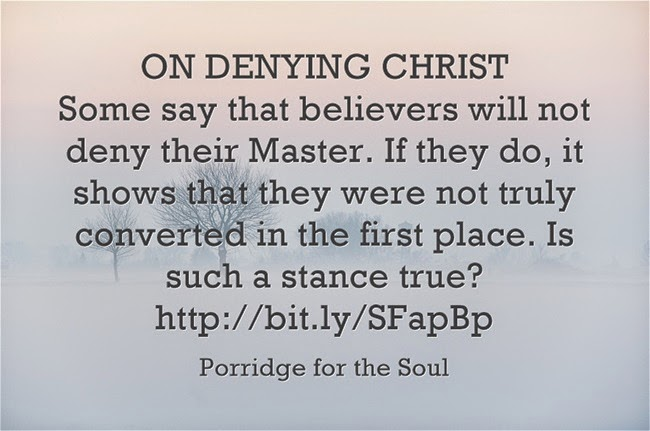 ON-DENYING-CHRIST