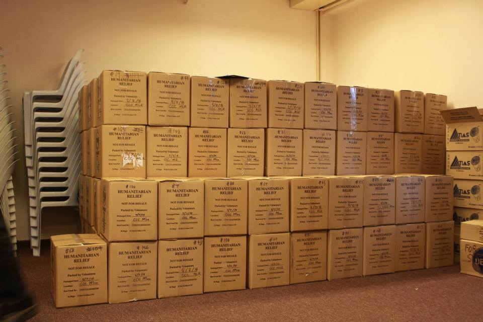165 boxes packed!