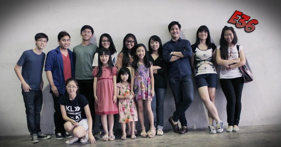 Bernice Kok with CG Members