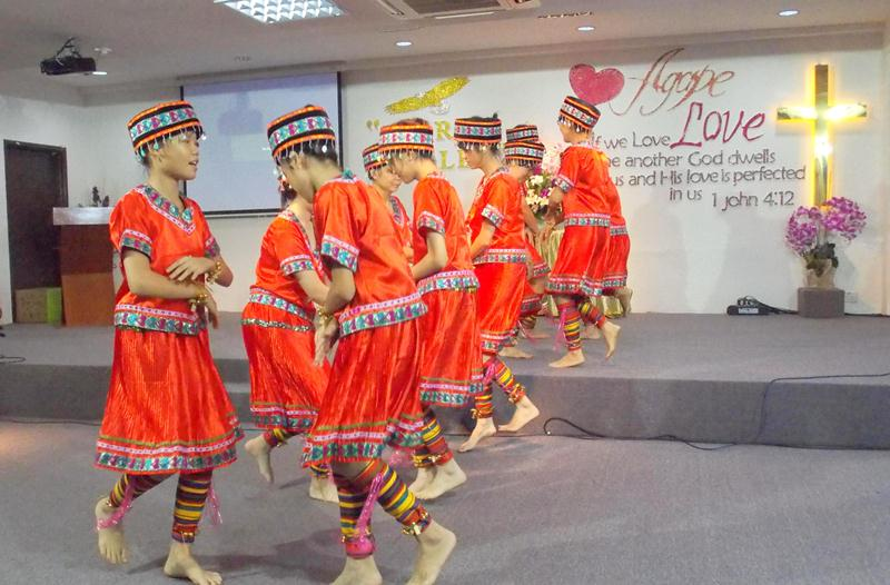 Taiwanese Dance by the Chinese Ministry