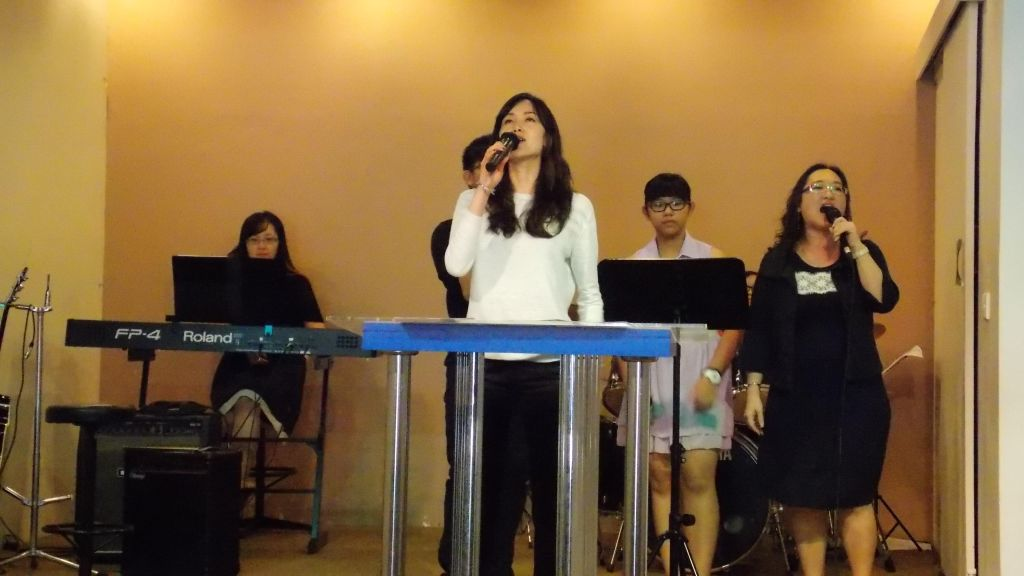 The time of worship at Puchong Tabernacle Assembly