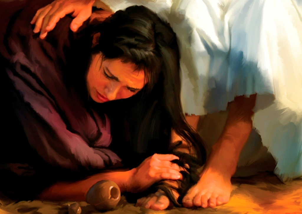 Jesus Anointed by a Sinful Woman | Daily Bible Readings
