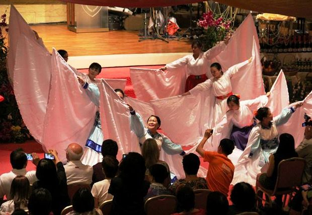 Dancers of the Feast of Tabernacle