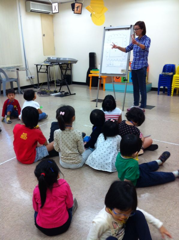 BP prog used in Sunday School in Penang Christian Centre