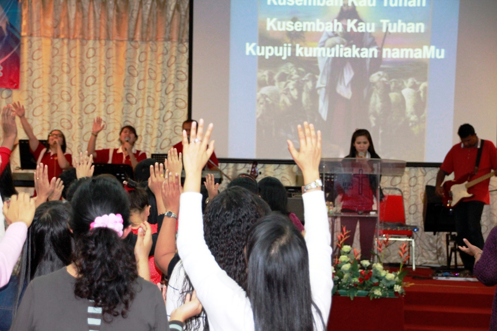 Global Worship Day (GWD) at Harvest Revival Centre, Penang