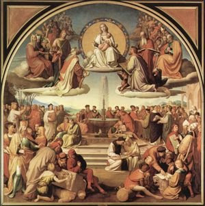 Overbeck Triumph of Religion in Art