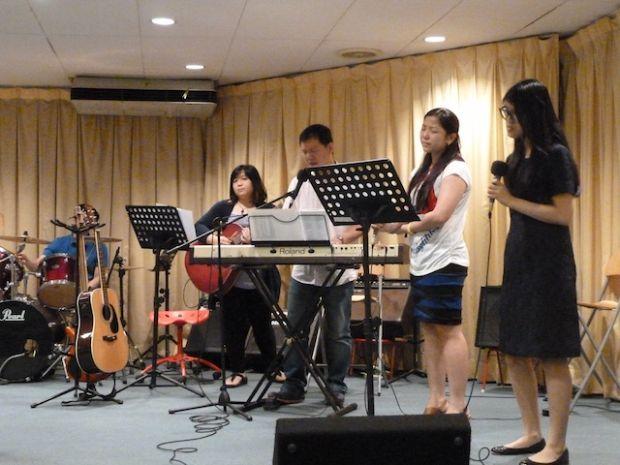 Worship team of FGA Kota Damansara