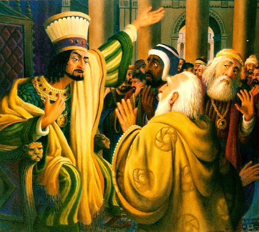 THE WISE MEN COSULT HEROD