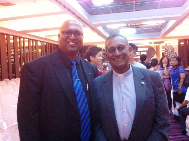 Rev Sean Prasad and Rev Dr Hermen Shastri