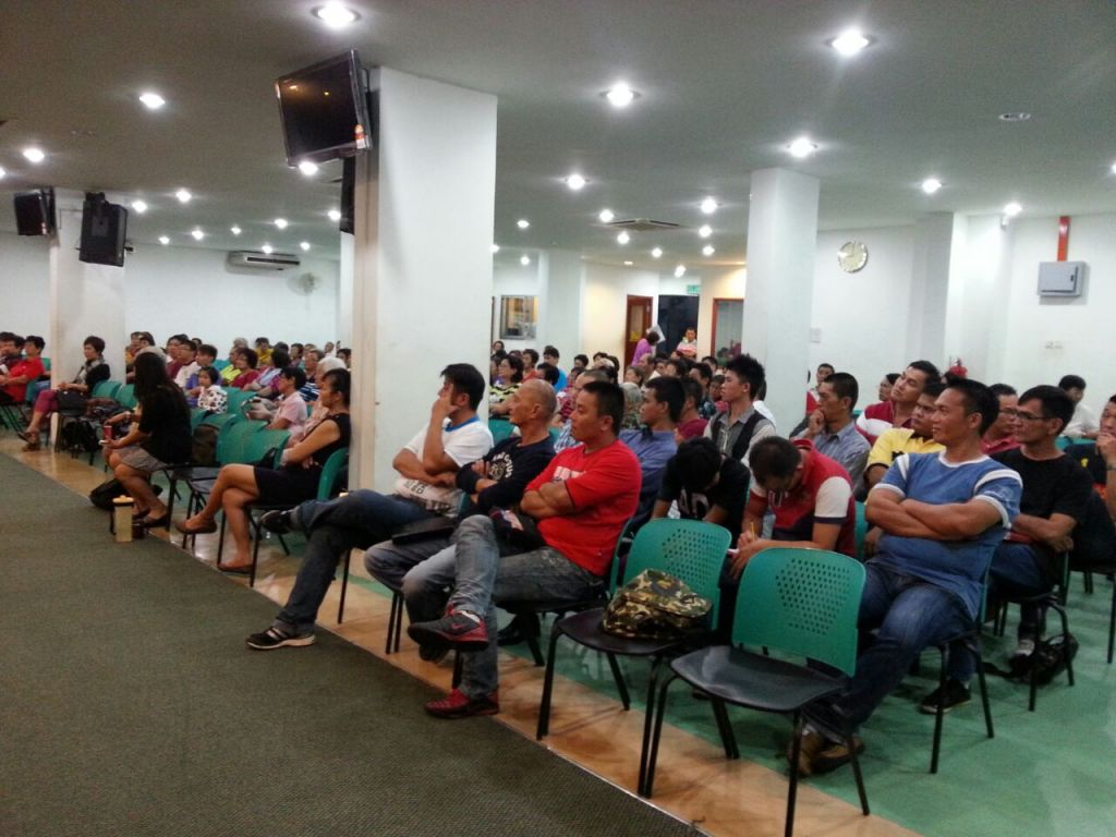 Attendees who came to the FGA KL Healing Service