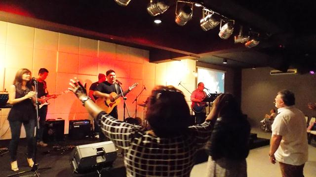 A lively praise and worship at C3 Church Subang