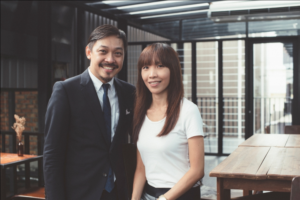 From left - Rev. Kevin Loo and Esther Ku closeup (Compliments of CHCKL)