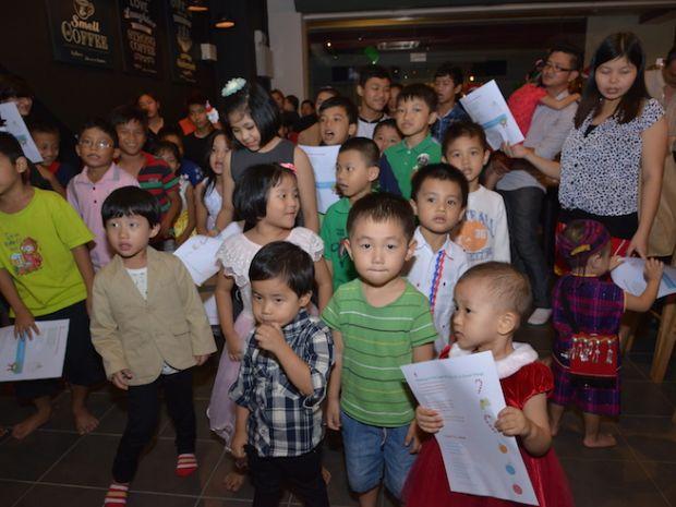 The beautiful children of Myanmar