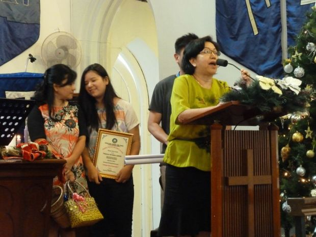 Another sister-in-Christ sharing about her short-term mission trip