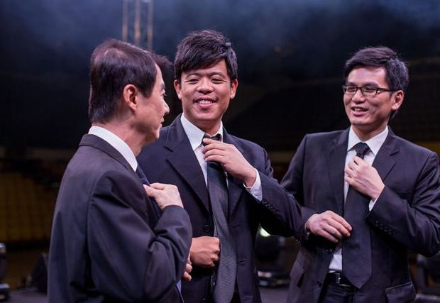 From left to right: Tom Tan, Josh Awang, and Victor Chua