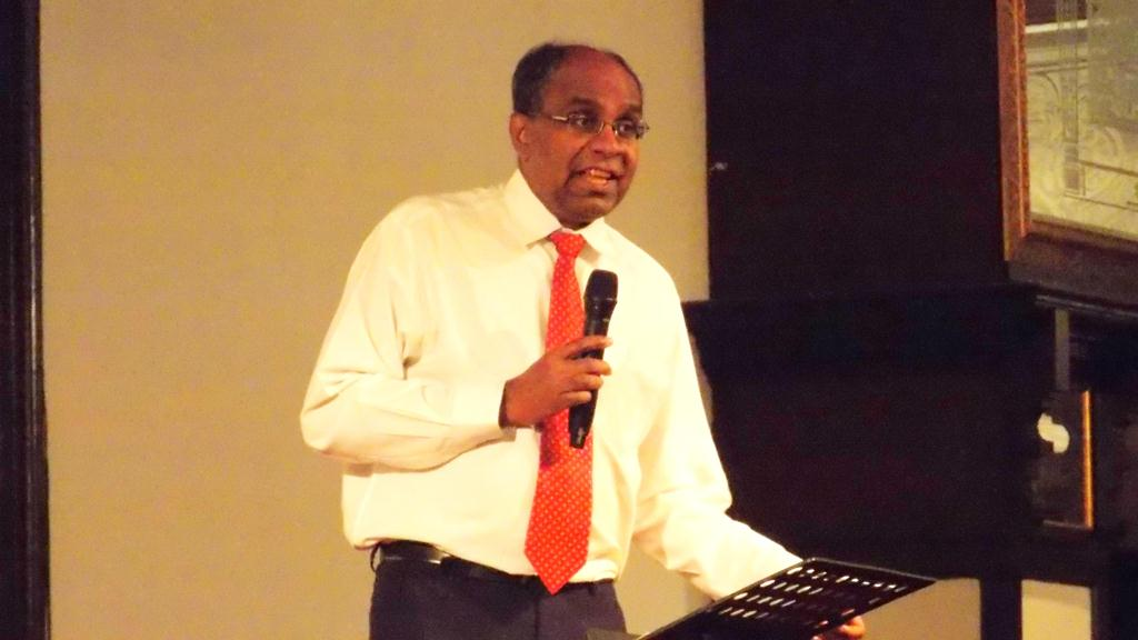 The Senior Pastor of City Revival, Pastor Suresh Sundram