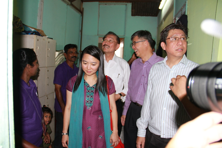 From right to left: YB Hannah Yeoh, Dato' Chua Jui Meng, YB Chua Tian Chang, and Rev Raymond Mooi