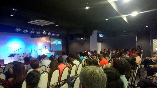 Pastor Clarance Shashi and the C3 Subang congregation
