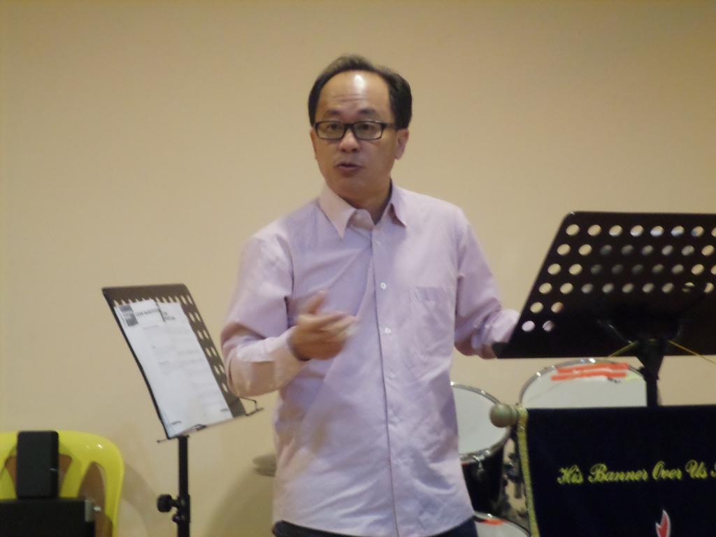 Robert Lim sharing