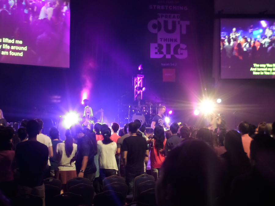 Planetshakers concert in DUMC
