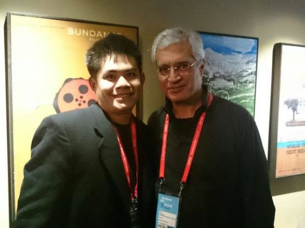 Paul with Louie Psihoyos, an Oscar-winning National Geographic director